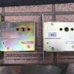 QDB-855 ガードロック錠ケーシング交換
